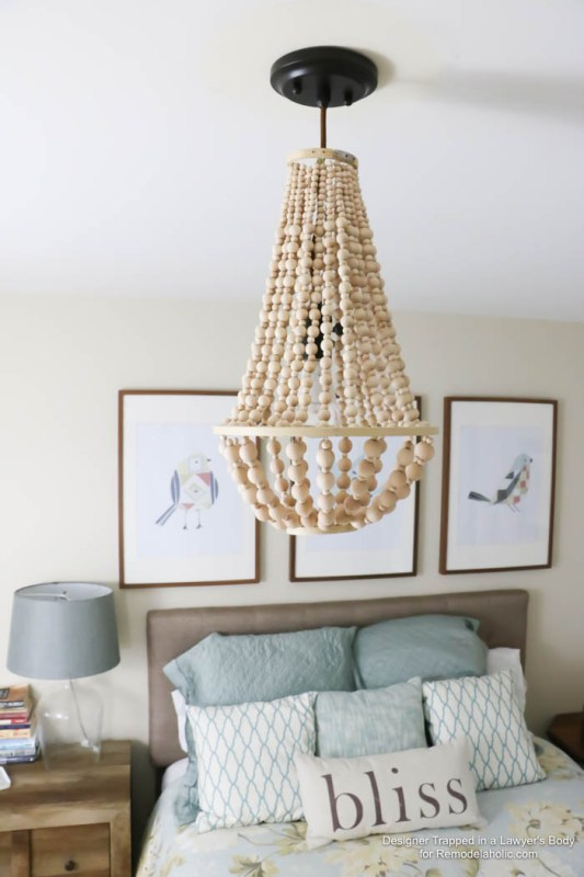 diy rustic chandeliers. Come learn how to make your own wood bead chandelier with this awesome  tutorial Remodelaholic 25 Gorgeous DIY Chandeliers