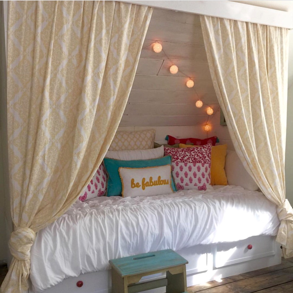 DIY Built In Bed Nook Tutorial Debi Remodelaholic 6