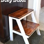 DIY kid step stool for bathroom