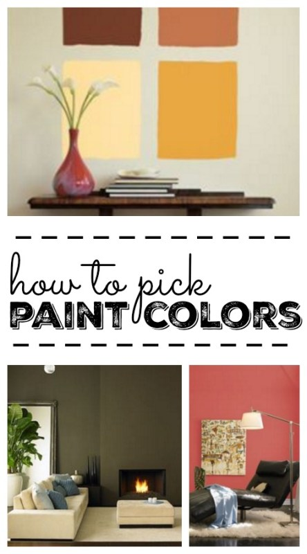 Great expert tips on how to pick paint colors for your home via remodelaholic.com
