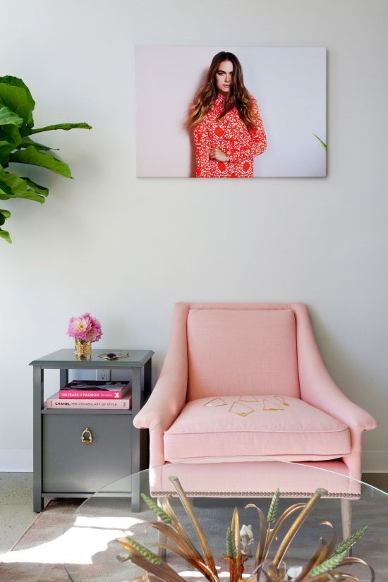 Millennial Pink: How to Decorate and Accent Your Home Decor | featured on #Remodelaholic #colorfiles