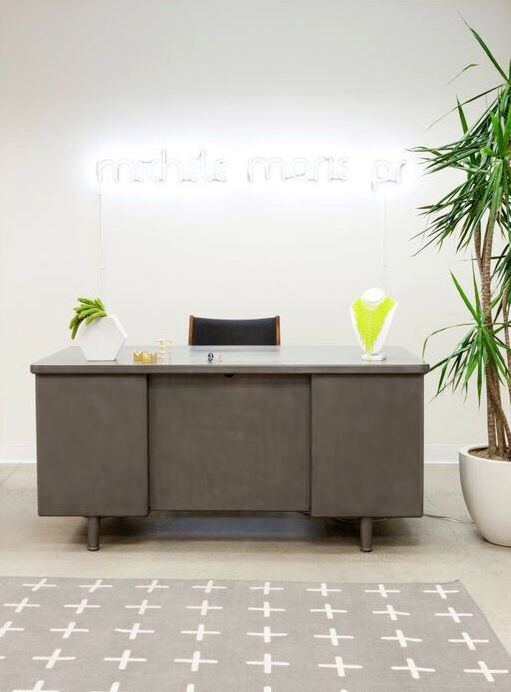Homepolish Stefani Stein - Michele Marie PR office lobby