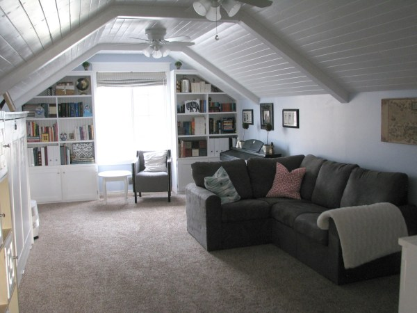 My So Called DIY Blog bonus room with murphy bed and lots of storage