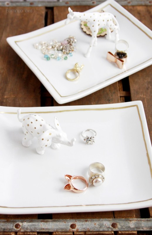 jewelry trinket dishes via Tatertots and Jello