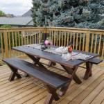 DIY X Leg Trestle Table