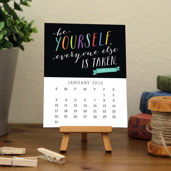 Calendar Images - Motivational 2016 - A23