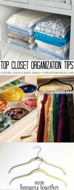 closet organizing ideas
