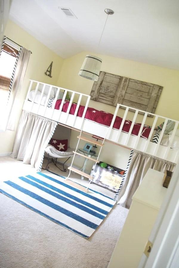 Remodelaholic Amazing Diy Loft Beds For