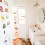 heathered nest kids vintage transportation bath door