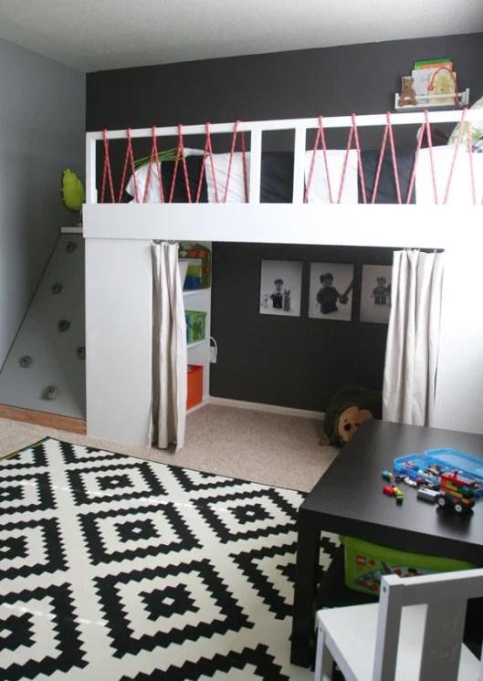 Remodelaholic 15 Amazing Diy Loft Beds For Kids