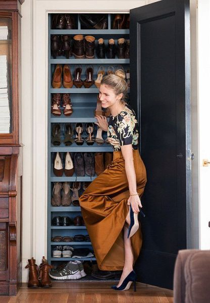 shoe closet @ remodelaholic