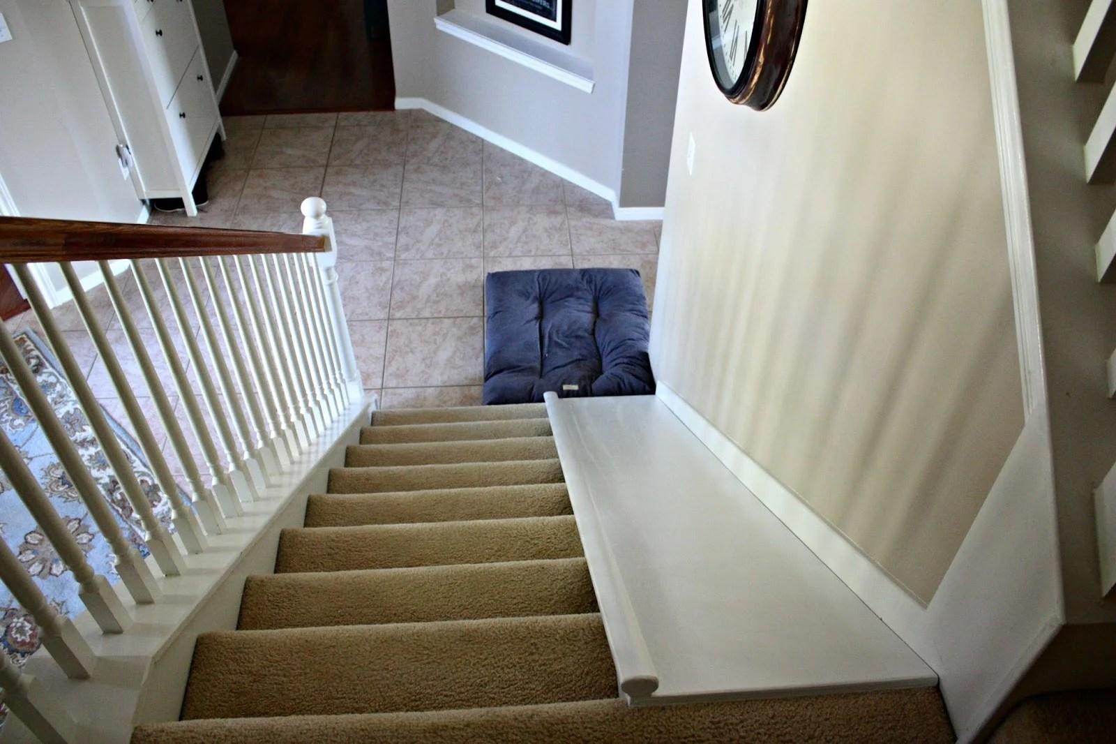 Beautiful DIY Indoor Stair Slide, With A Super Easy Tutorial, Plus The Slide Is Easy