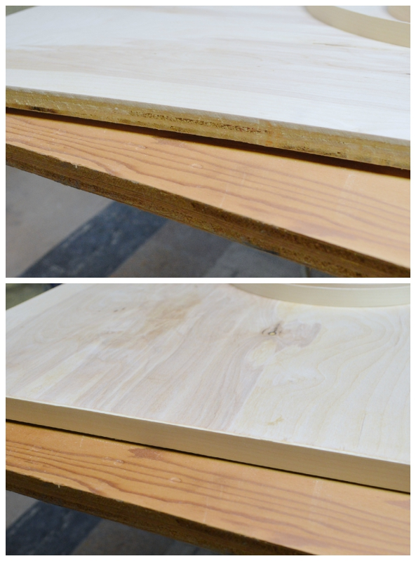 How to make your own coffee table, Plaster and Disaster featured on Remodelaholic.com