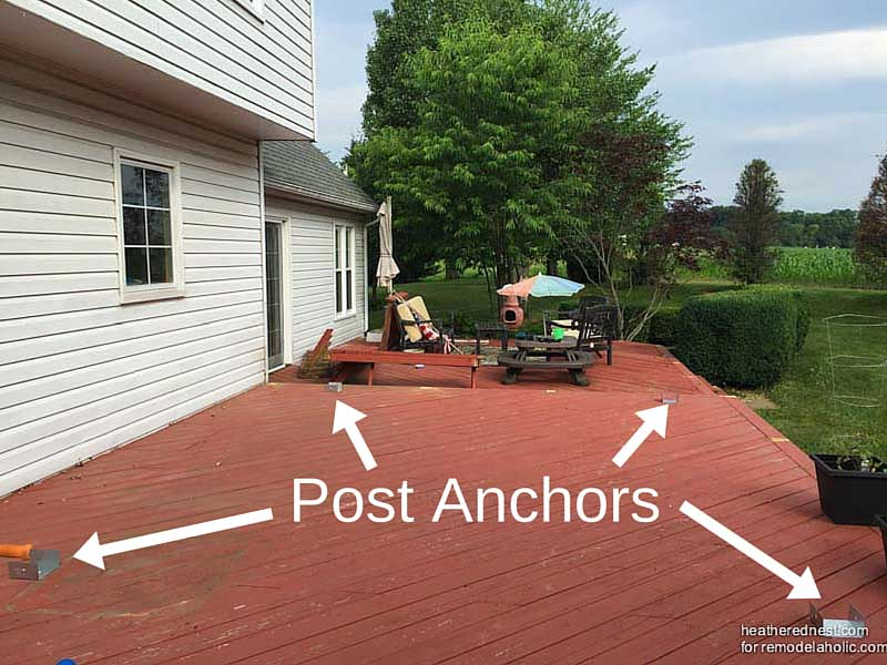 Beau How To Build A Pergola On A Wood Deck | DIY Pergola Tutorial  Www.heatherednest