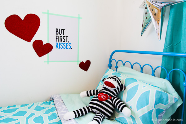 Free Valentine's Day printable, printed with Canon PIXMA iP8720 Crafting Printer @remodelaholic-13