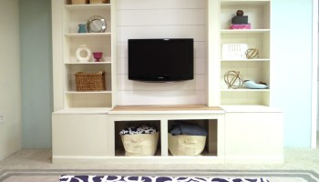 Remodelaholic   Home Sweet Home on a Budget: Built Ins