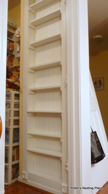 Pantry Recessed Shelf