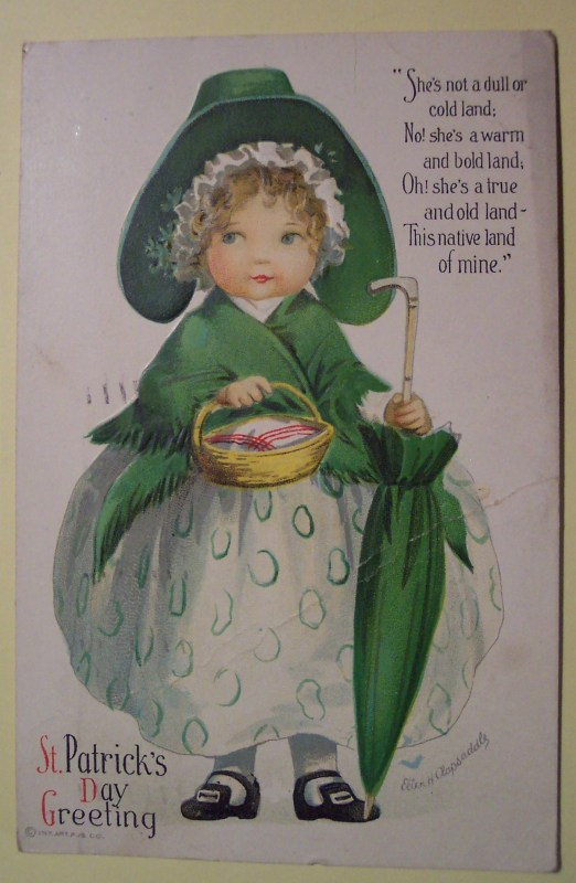 Vintage images for St. Patrick's Day decorations from Flickr on Remodelaholic