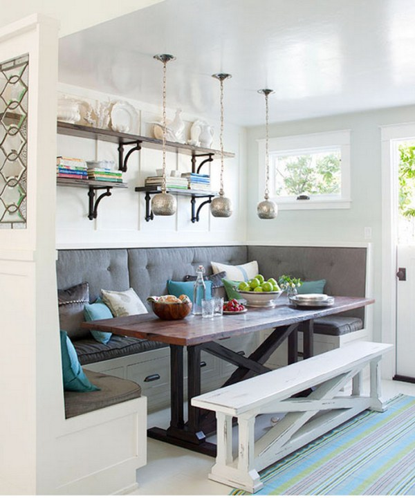 Build a beautiful rustic X dining table and matching bench like this one. Free building plans that make it simple and straightforward to build your own table.
