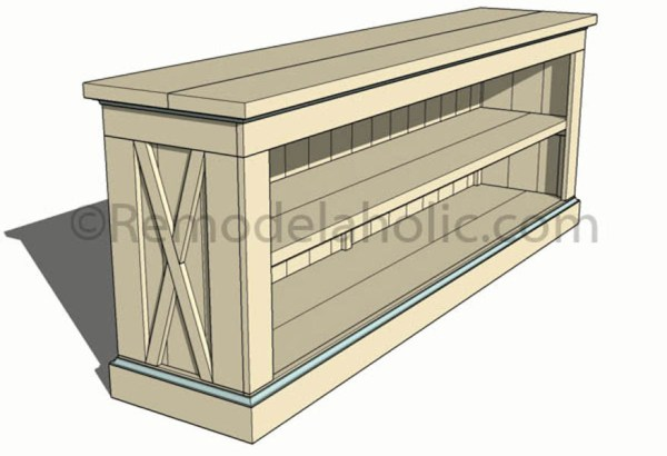 console sideboard table plans-1 @remodelaholic (14)