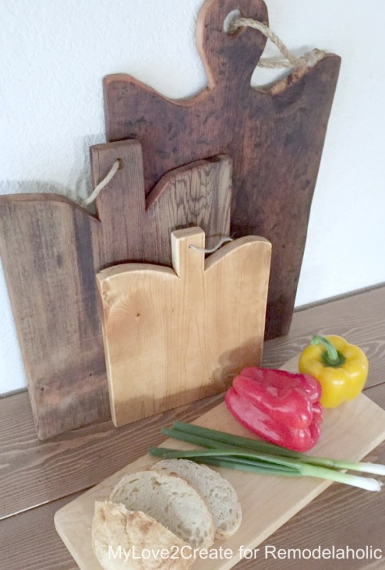top view, cutting boards, MyLove2Create for Remodelaholic