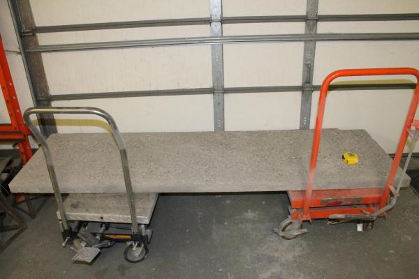 drying out DIY concrete countertops before sealing