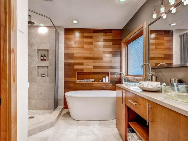 Remodelaholic How To Add A Wood Plank Wall To Your Home