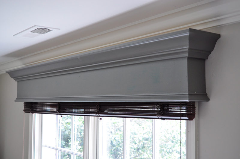 DIY Window Cornice | Detailed Step By Step Photo Tutorial To Build A Window