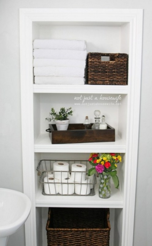 25+ Brilliant In-Wall Storage Ideas For Every Room In Your Home