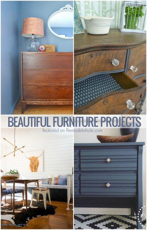 Beautiful DIY furniture projects @Remodelaholic
