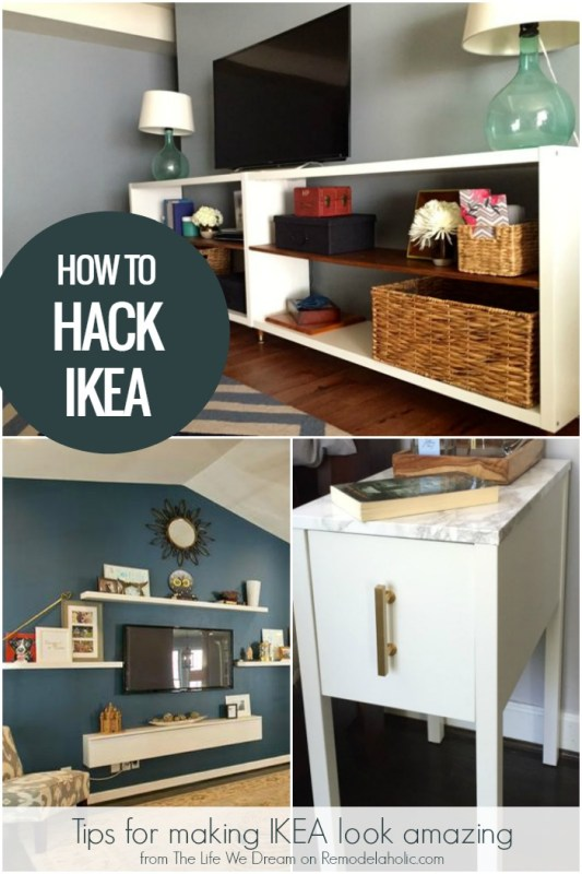 IKEA Hack Tips from someone who has hacked a lot of IKEA! @Remodelaholic