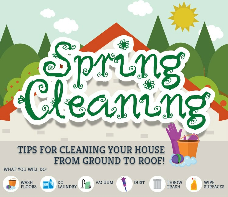 Remodelaholic Top To Bottom Spring Cleaning Tips And Tricks