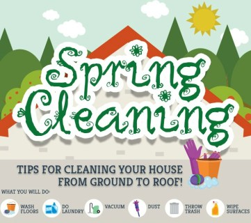 Top-to-Bottom Spring Cleaning Tips and Tricks