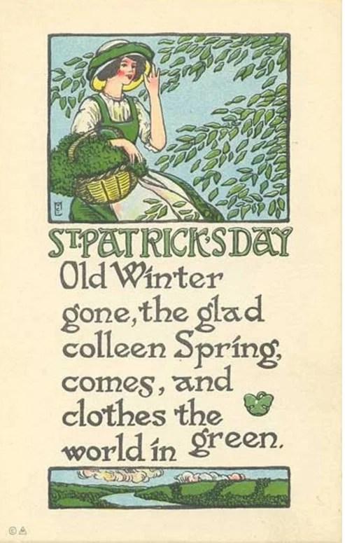 VIntage St. Patrick Day Images