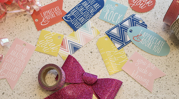 Gift Tag printable with Canon printer by @remodelaholic-5