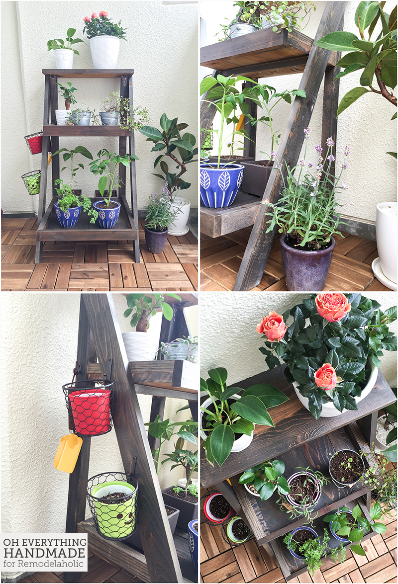 Ladder Plant Stand by OEH- Finished project