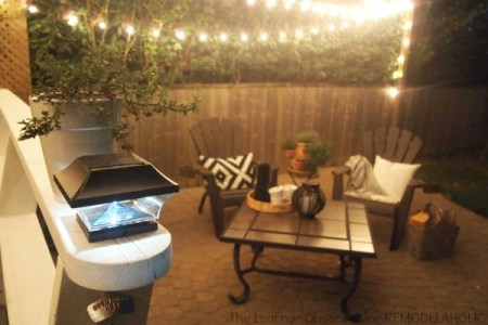 Create the perfect place to entertain outdoors with these amazing ideas to increase patio ambience via Remodelaholic.com