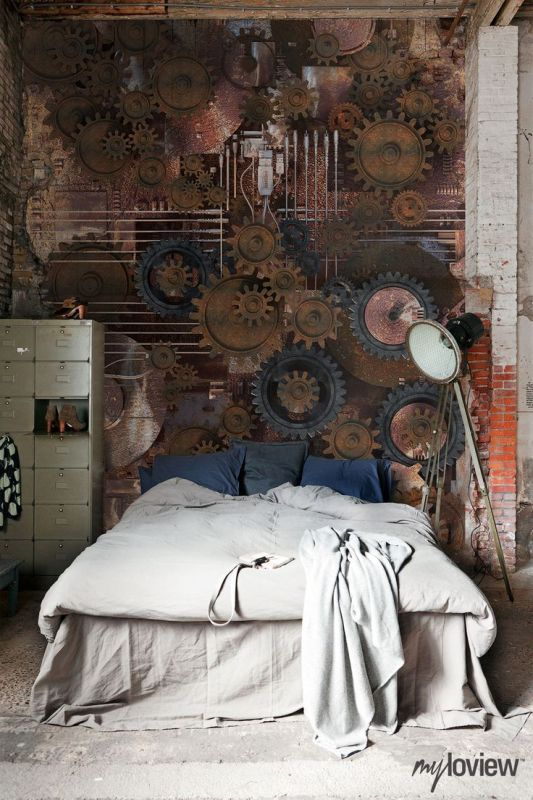 gear-looks-wall-clocks bedroom homedit