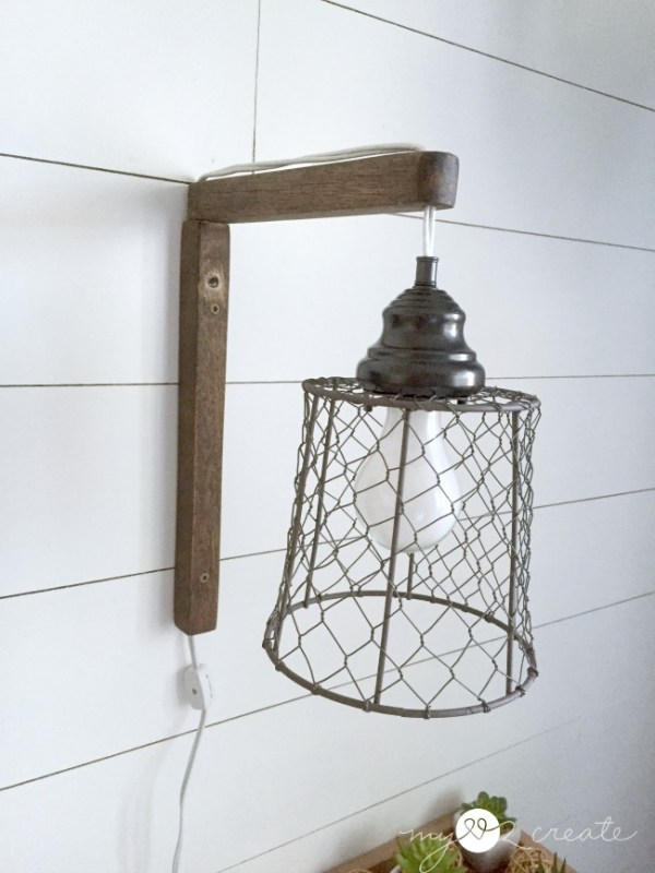 rustic plug-in wall sconce lights from pendant lights, Mylove2create