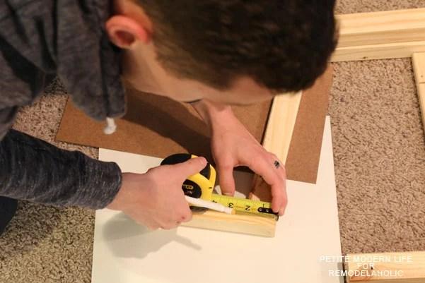 Gorgeous mid century Ikea Tarva hack by Petite Modern Life on Remodelaholic