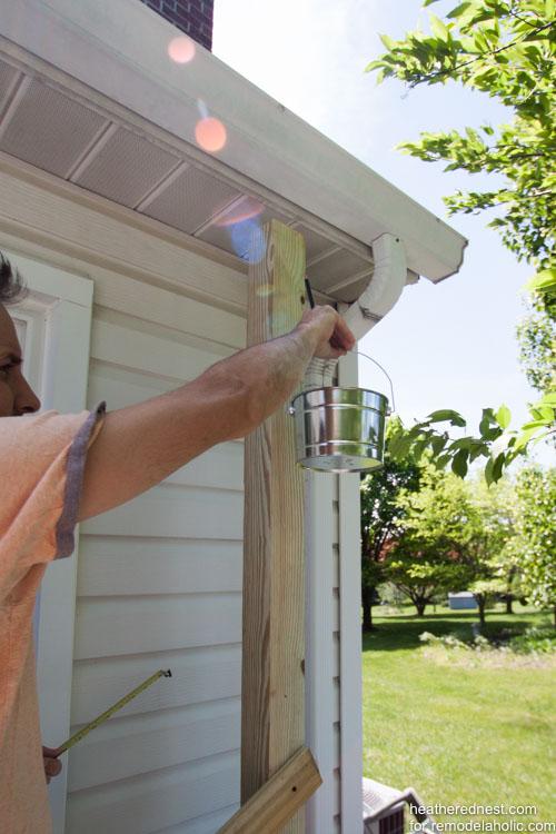 DIY vertical garden for remodelaholic.com by heatherednest.com (9 of 19)