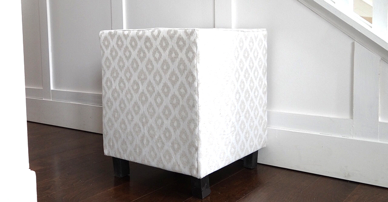 Upholstered Cube DIY