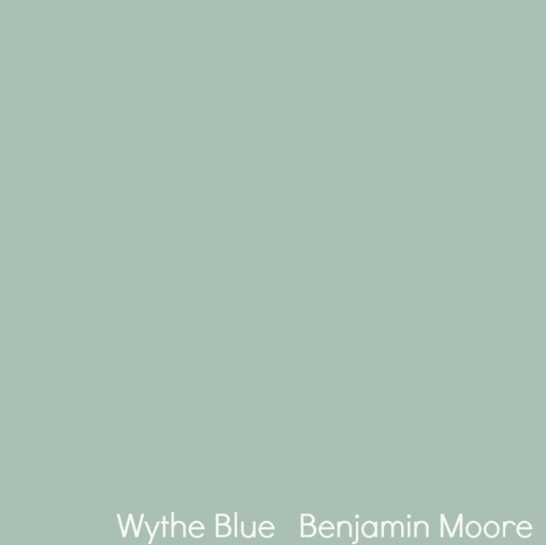 Wythe Blue from Benjamin Moore. Color Spotlight on Remodelaholic