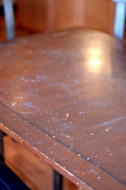 build a removable planked table top cover