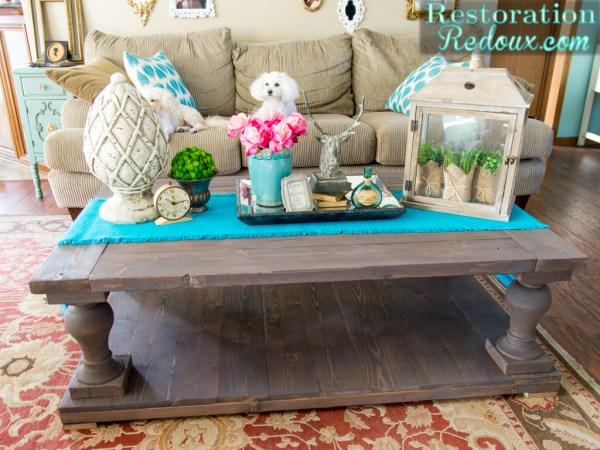 DIY-Balustrade-Coffee-Table Restoration Redoux