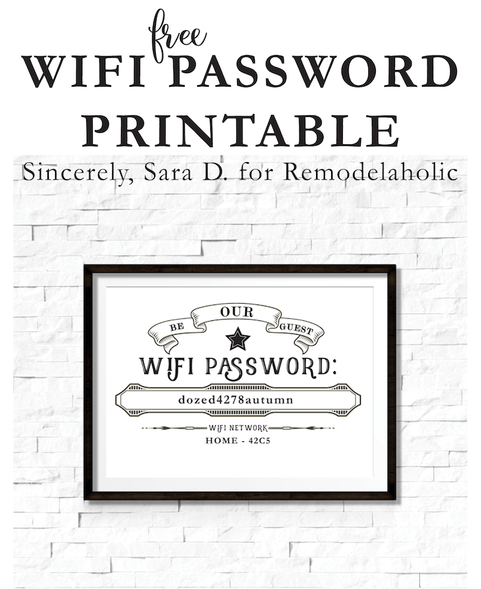 It is an image of Free Printable Wifi Password Template for clipart
