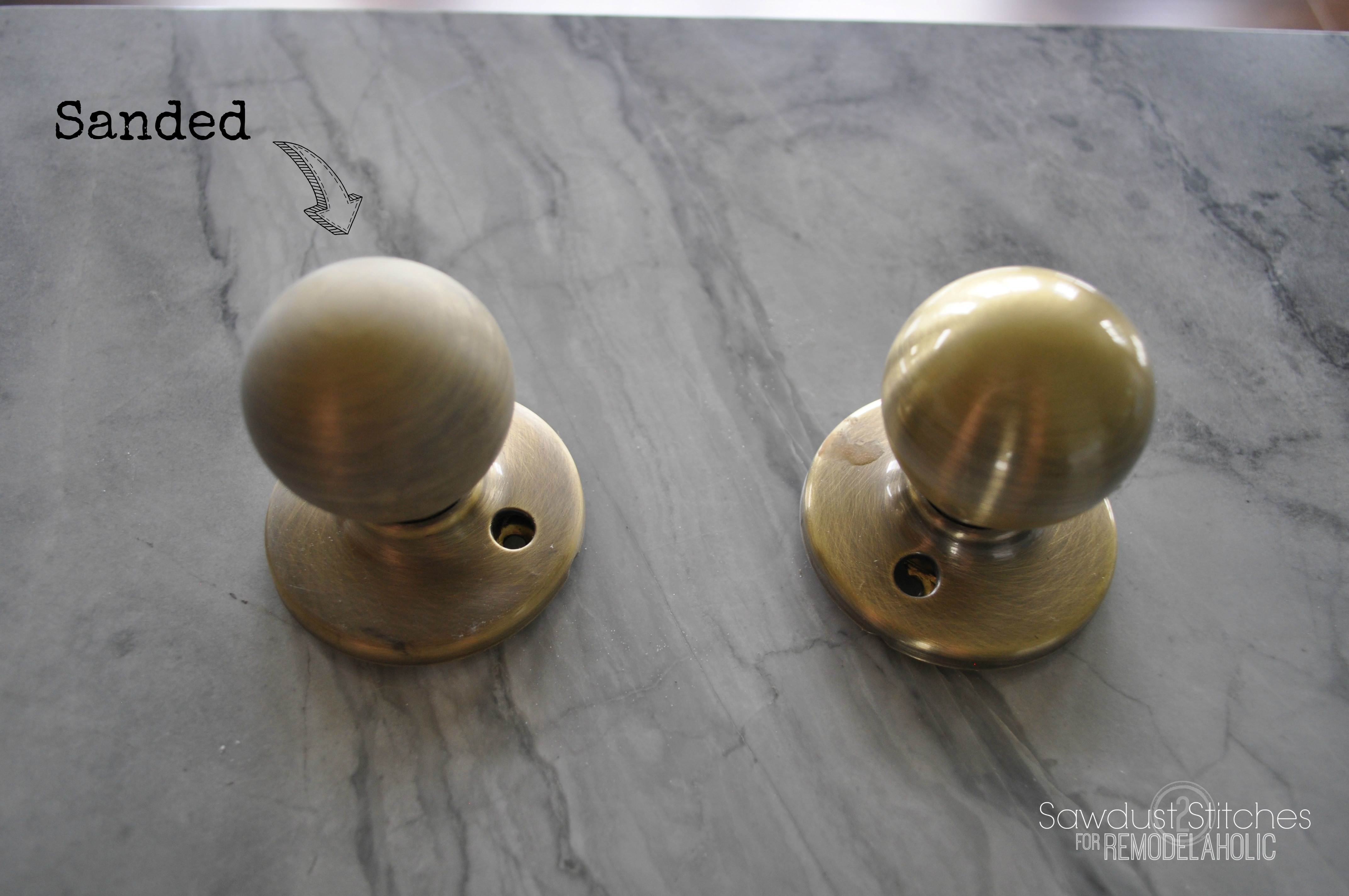 How To Upgrade Door Knobs With Spray Paint    The RIGHT Way So Youu0027