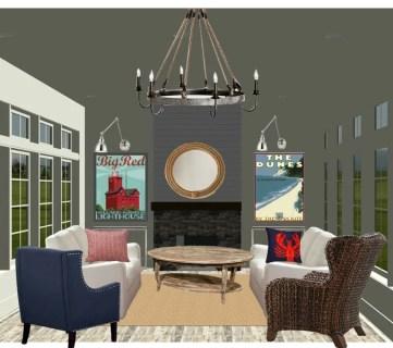 Coastal Casual Living Room Design Tips