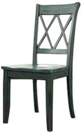 dining chair farmhouse antique blue