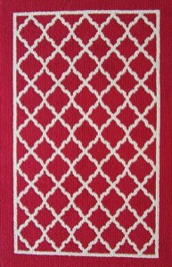 Trellis Sand Rug available in 5 colors  // buy it here
